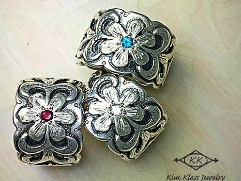 Flower Power Rings
