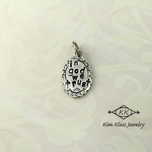 In God We Trust Pendant (Small)