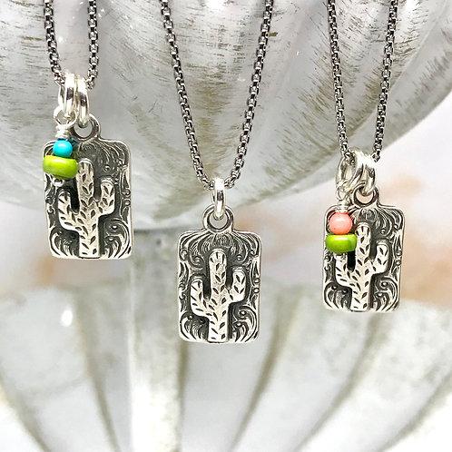 Cactus Focus Necklace