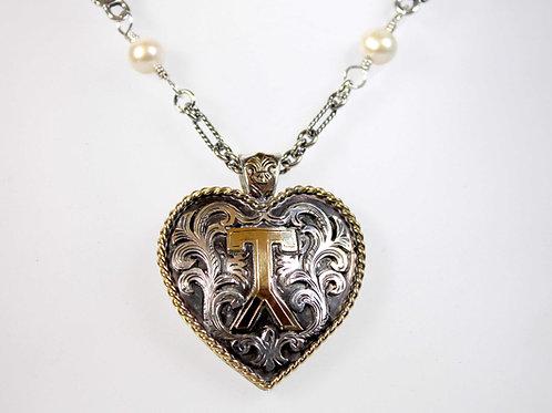Custom Heart Brand Pendant
