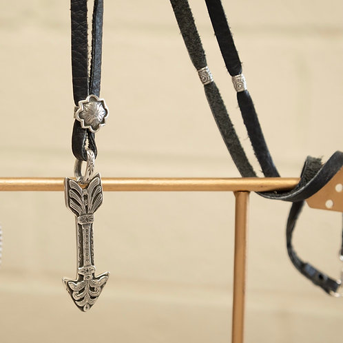 Fearless Arrow Lariat Necklace