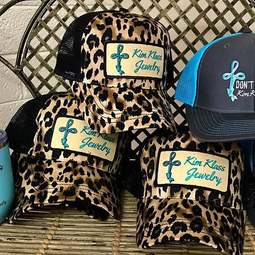 Leopard Patch Ball Cap