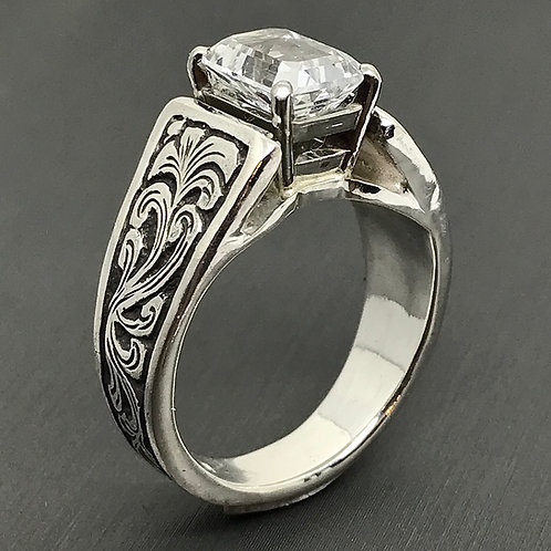 9 x 7 Cathedral Ring