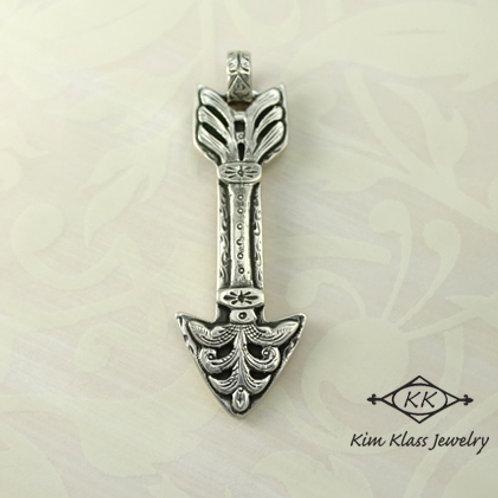 Fearless Arrow Pendant