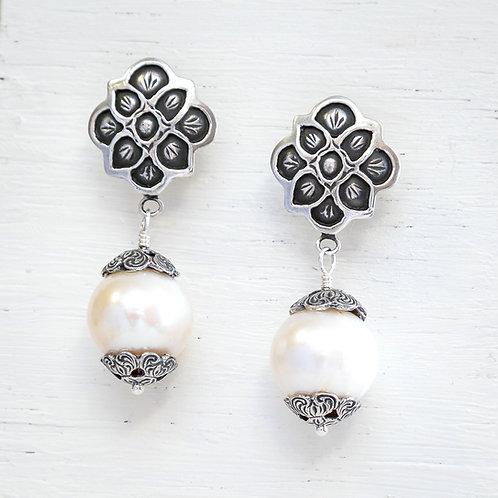 Paloma Blanca Earrings