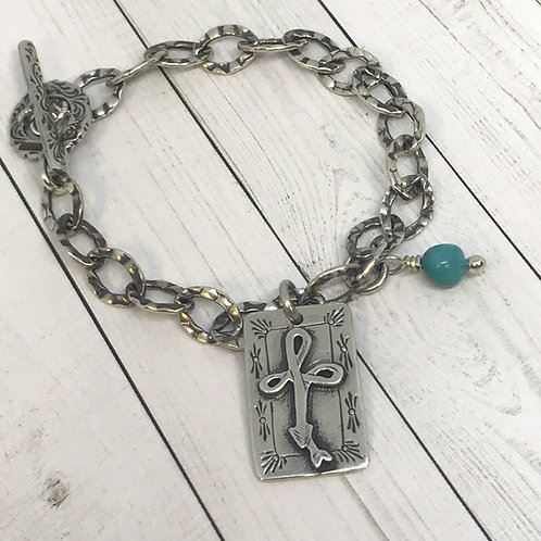 Look Ahead Charm Bracelet