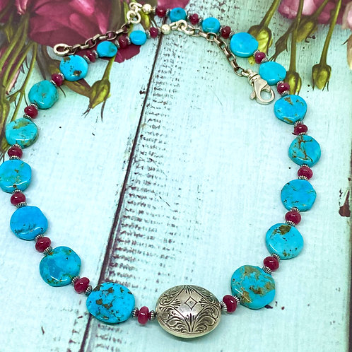 Ruby River Necklace