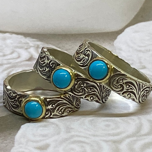 Sweet Baby Turquoise Ring