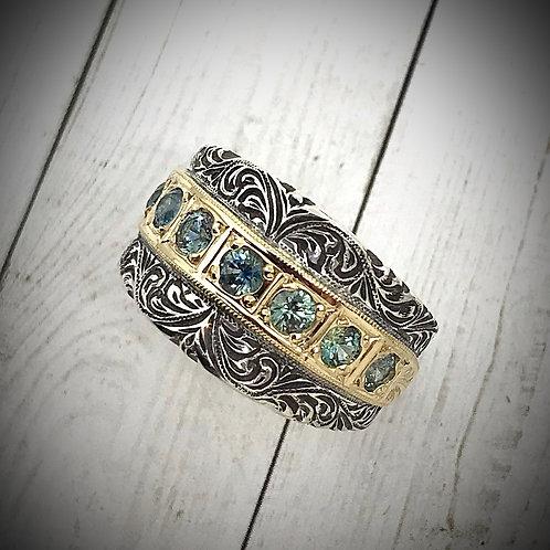 Signature Klass Montana Sapphire Ring