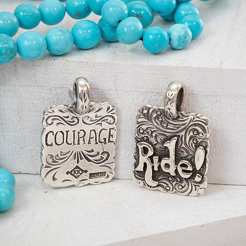 Ride Courage Pendant