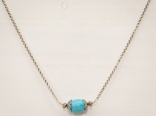 Desert Single Turquoise Necklace