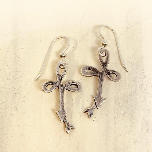 Cross Pattern Earrings