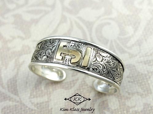 LazyTJ Custom Cuff bracelet