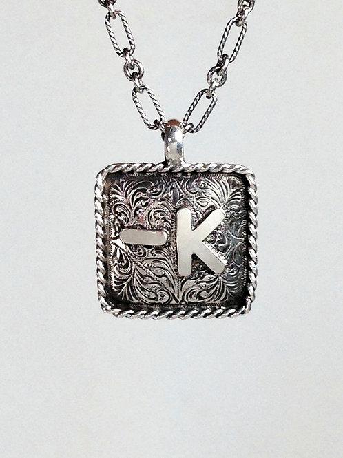 Bar K Pendant