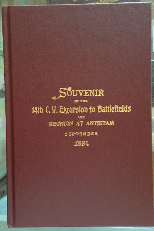 Souvenir of the 14th CT Excursion to Battlefields