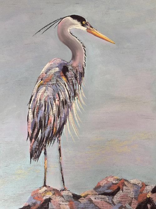 ST32 Ruby - Blue Heron
