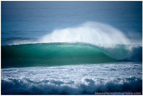 bluespherephotography.com © - OCEAN VIEWS - Burleigh Cyclone Wave 1