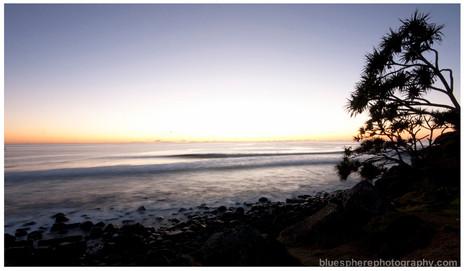 bluespherephotography.com © - OCEAN VIEWS - Burleigh Sunrise