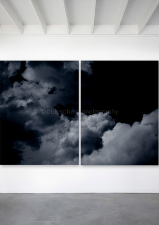 BlueSphere digital exhibition 4638 diptych 1 and 2 ATMOSPHERIC 2