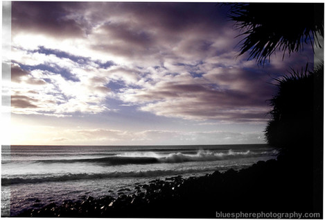 bluespherephotography.com © - OCEAN VIEWS - Burleigh Sunrise Dualtone