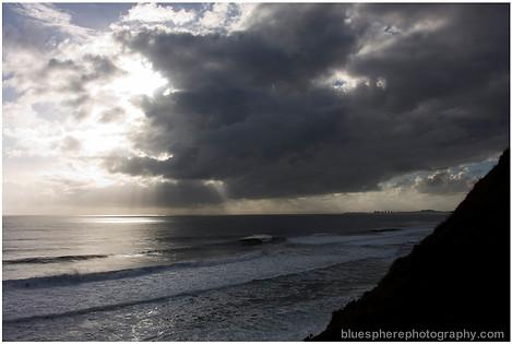 bluespherephotography.com © - OCEAN VIEWS - Sea Storm Burleigh Headland