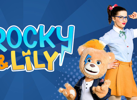 La RTBF présente ses nouveaux héros Rocky & Lily