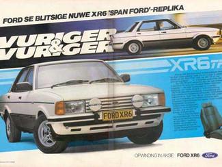 1983 Ford Cortina XR6 TF
