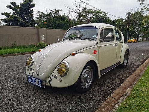 1965 Beetle done in a tasteful Cal look