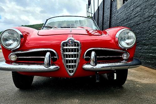 1957 Alfa Romeo Giulietta Spider 1300