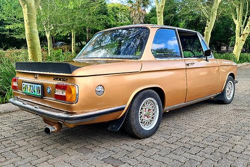 1971 Bmw 2002 RHD Twin Carbs