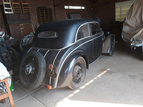 1937 DKW F7 Meisterklasse