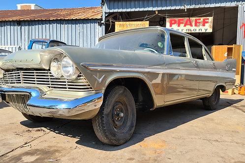 1958 Plymouth belvedere V8