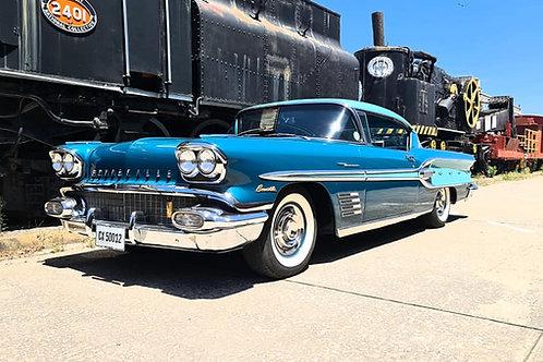 1958 Pontiac Bonneville Sports Coupe Fuel injection