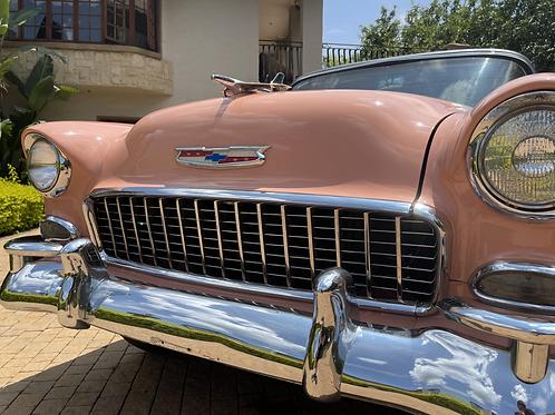 1955 Chev two door hard top Bel air