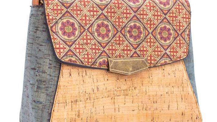 Natural Cork Patterned  Sling/Crossbody Bag