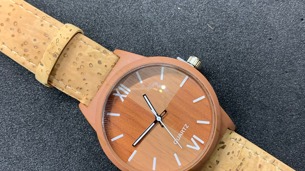 Chico Natural Cork Watch