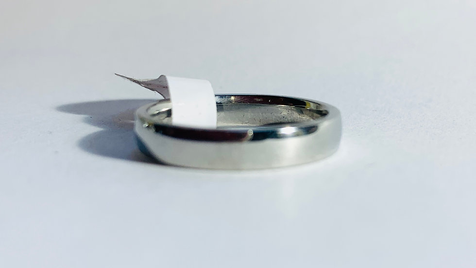 Stainless Steel Plain Band Ring