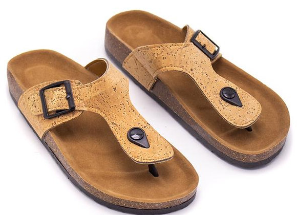 Natural Cork Sandal