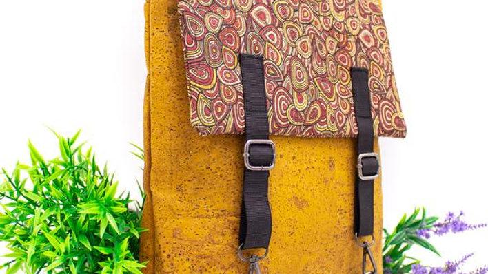 Natural Cork Laptop Back Pack