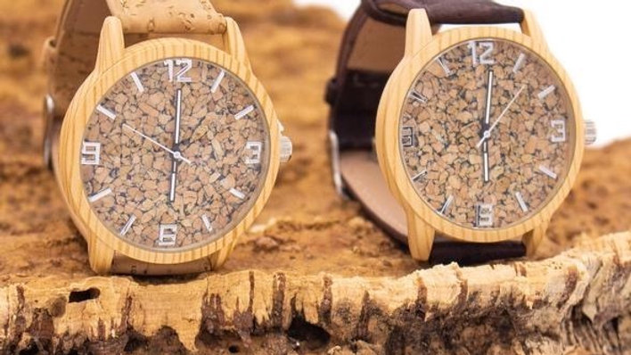 Mens Faro Natural Cork Watch