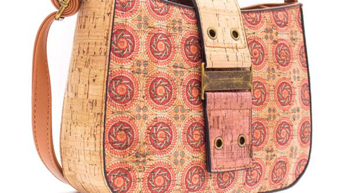 Natural Cork Crossbody Boat Bag