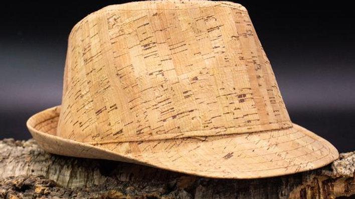 Natural Cork Trilby Hat