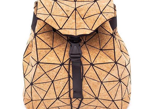 Natural Cork Geometric Rucksack