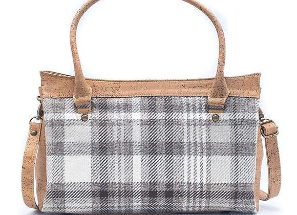Belanca Checkered Cork Handbag