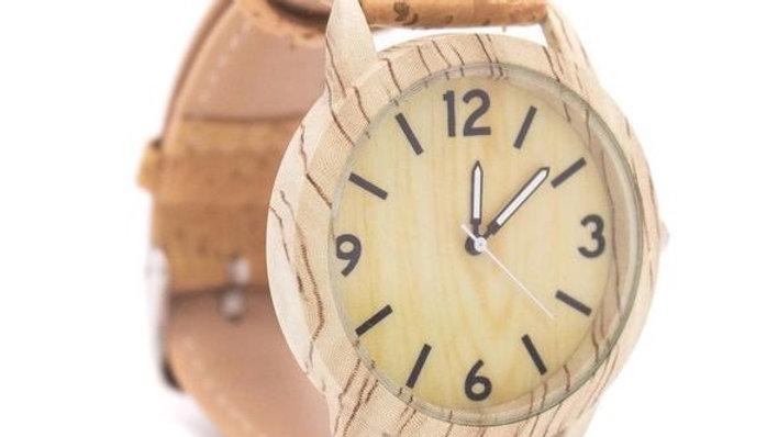 Mens/Unisex Braga Cork Watch