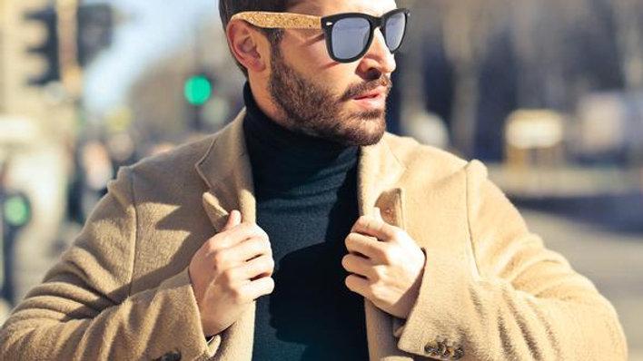 Cork sunglasses UV protection Eyewear