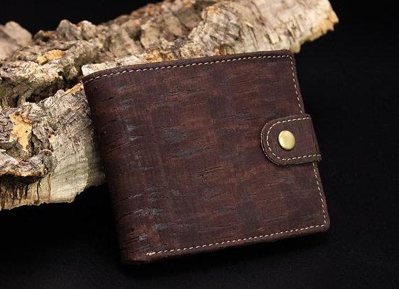 Cork Mens Wallet in Brown or Black