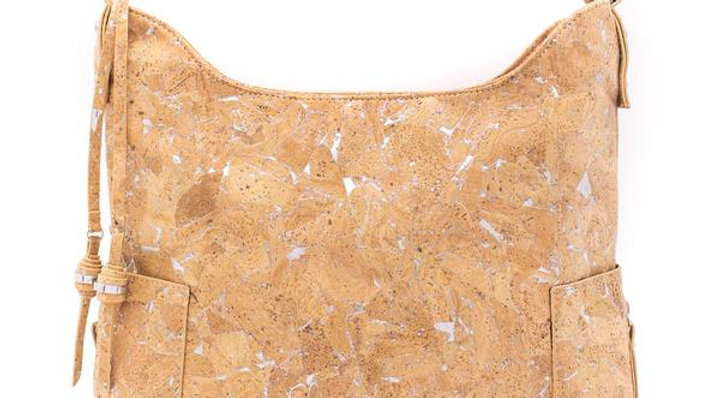 Natural Cork Hobo Style Bag