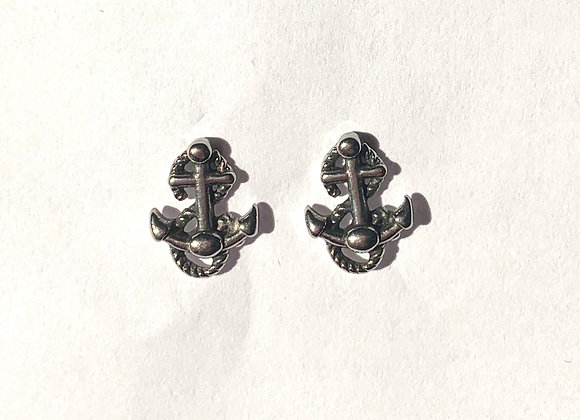 Stainless Steel Nautical Earrings