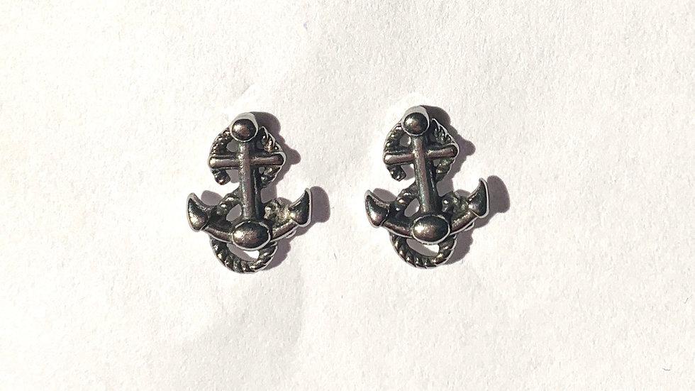 Stainless Steel Nautical Earrings